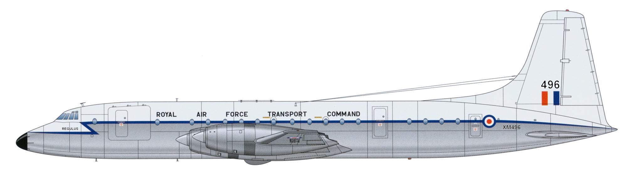 The Royal Air Force Britannia – XM496